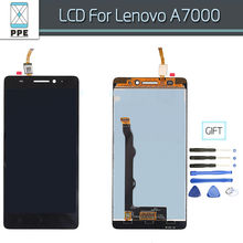 5.5 Inch AAA Lcd Screen For Lenovo A7000 LCD Display Touch Screen Digitizer Pantalla Replacement Assembly Free tools