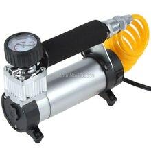 Горячая Распродажа YD-3035 DC 12V Портативный насос 100PSI автомобильный воздушный компрессор шин для автомобильных электрических