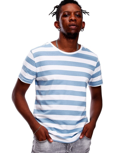 070c150a7c0e Striped Shirt for Men Stripe T Shirt Male Top Tees Navy Russian Shirt Even  Basic Wide Stripped Cosplay Red White Black Blue Boy