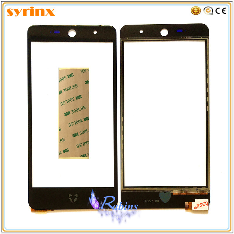 SYRINX 3M Tape Touch Screen Digitizer For Wileyfox Swift 2 Front Glass Sensor For Wileyfox Swift 2 Touchscreen Panel