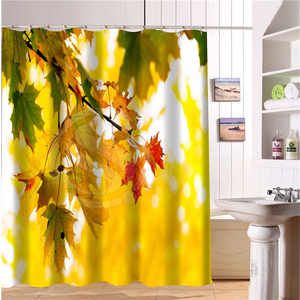 Xxihlive Custom Trees Shower Curtain Bathroom Waterproof