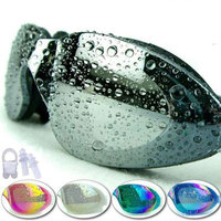 Swim Okulary Okulary Anti Fog Ochrona UV Okulary Pływackie Profesjonalne Galwaniczną Wodoodporne Pływać Gogle