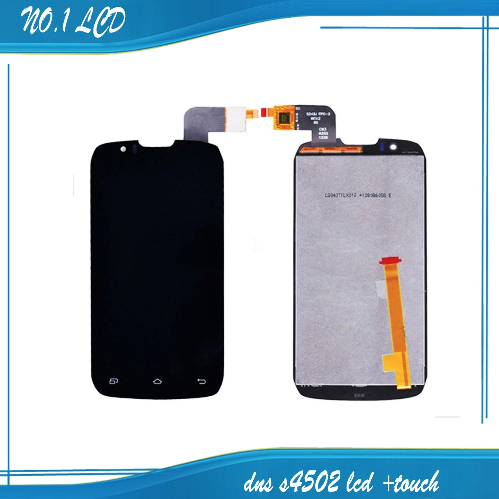 (5243J FPC-3 FPC-2) For DNS S4502 DNS-S4502 S4502M ,FOR INNOS D9C D9 Original LCD display screen +digitizer touch glass D9
