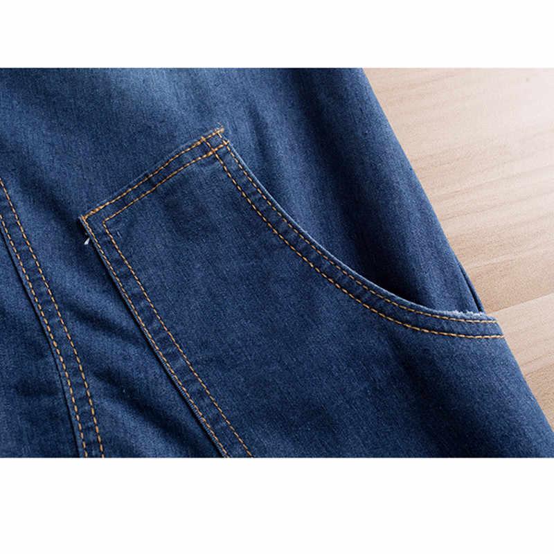YAGENZ весенне-осеннее джинсовое платье женское платье с v-образным вырезом и длинным рукавом модные мини-платья Свободный пуловер для молодых девушек джинсовые платья 838