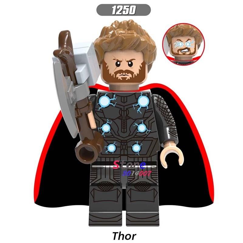 Just Single Marvel Avengers Endgame Doctor Strange Black Widow Hawkeye Pepper Captain America Thor Figure Building Blocks Kids Toys Toys & Hobbies