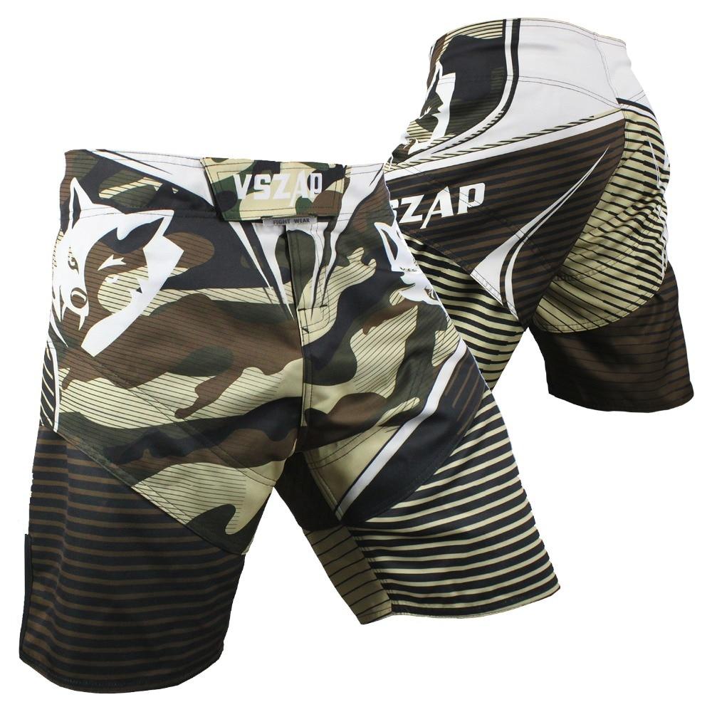 VSZAP MMA Boxing Motion Clothing Cotton Loose Size Training Kickboxing Shorts Muay Thai Shorts Cheap MMA Shorts Boxeo Mens Short ...