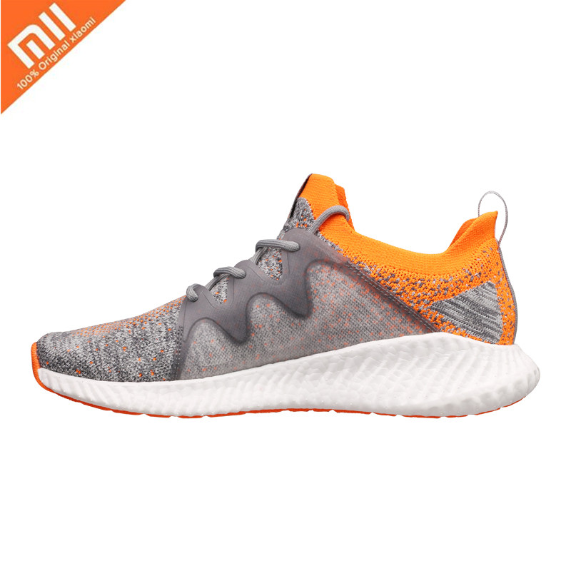 Original Xiaomi Mijia FREE TIE outdoor sports shoes men s lightweight breathable cloud bomb sports casual