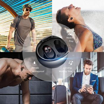 Mini Bluetooth Wireless Earphones Headset Earbuds With Charger Casual, Travel, Outdoor, etc Box 360-680 Hours
