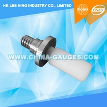 E14 Plug Gauge for Lampholder with Candle Shaped Shaft for Candle Lamps for Testing Contact Making 7006-30A-1