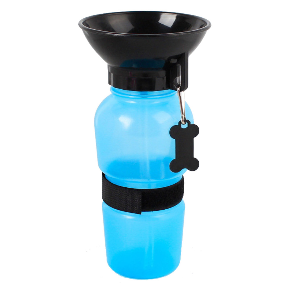 Portable Anti-Spill Out Design Travel Dog Water Bottle
