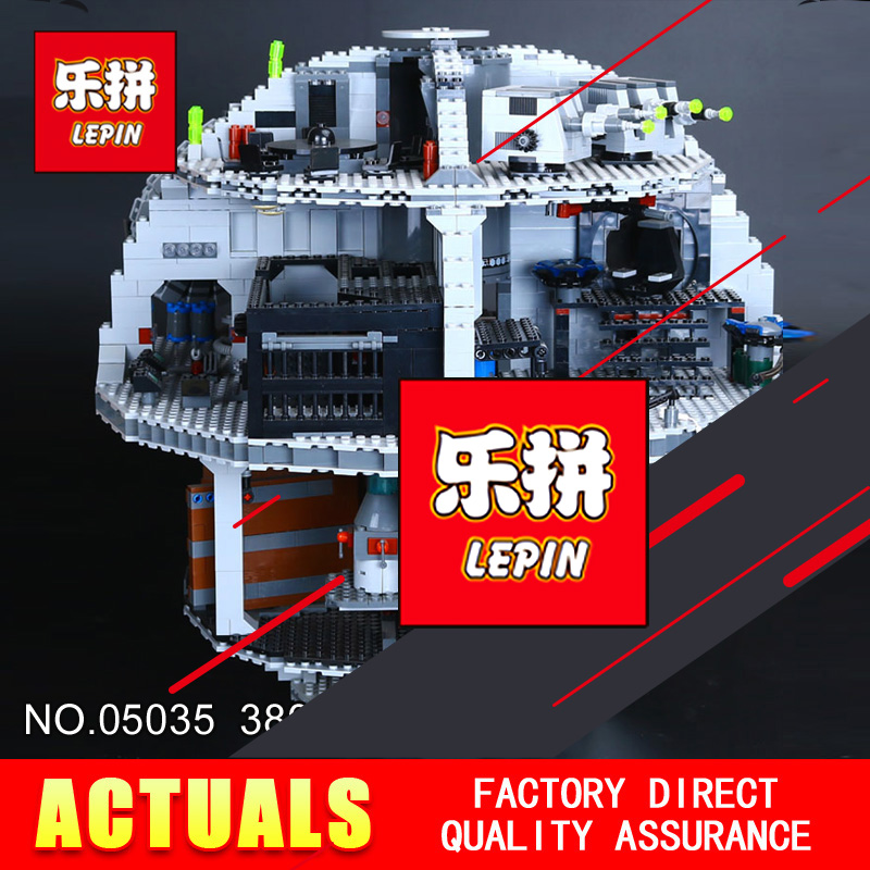 LEPIN 05035 Star Classic Model Wars Death 3804pcs Star Building Block Bricks Toys Kits Compatible with 10188 to Holiday gifts new lepin 05035 star wars death star 3804pcs building block bricks toys kits compatible legoed with 10188 children educational