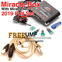 Miracle Box with Miracle Key Dongle (4 Adapters Set) + UMF All Boot cable for china mobile phones Unlock Repairing unlock