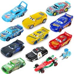 Samochody Disney Pixar 2 3 zygzak McQueen Jackson Storm fantastyczny Mater 1:55 odlewane modele ze stopu metalu Model samochodu urodziny prezent zabawki dla chłopca