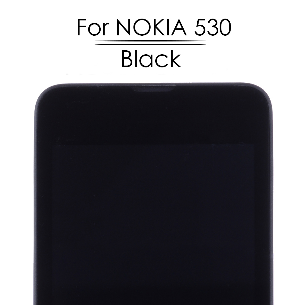 """OTMIL RM-1017 4.0"""" LCD Display For NOKIA Lumia 530 Touch Screen LCD DisplayDigitizer Assembly Replacement Parts N530 + Frame"""