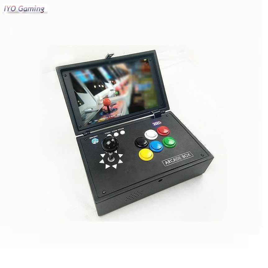 Raspberry Pi 3B 10 Inch LCD Video Game Console Includes 10K Games Installed  Recalbox Mini Arcade Machine