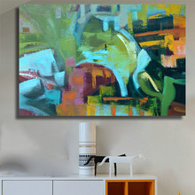 Abstract Canvas Art painting printed painting Home Decor wall art Wall Pictures for Living Room Modern Posters and Prints(China)
