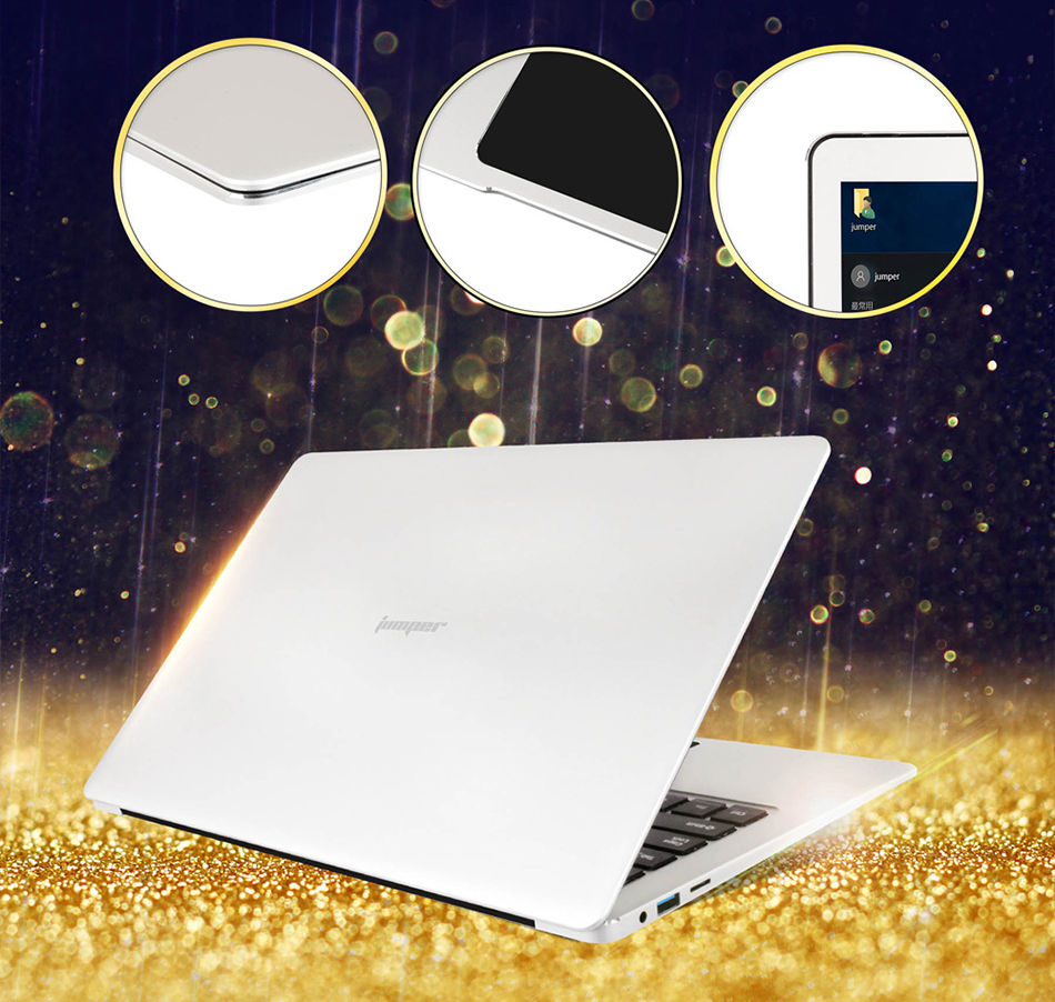 Jumper EZbook 3 Pro Intel Apollo Lake N3450 6G DDR3 64GB eMMC ultrabook IPS 1920 x 1080 laptop with M2 SSD Slot (3)