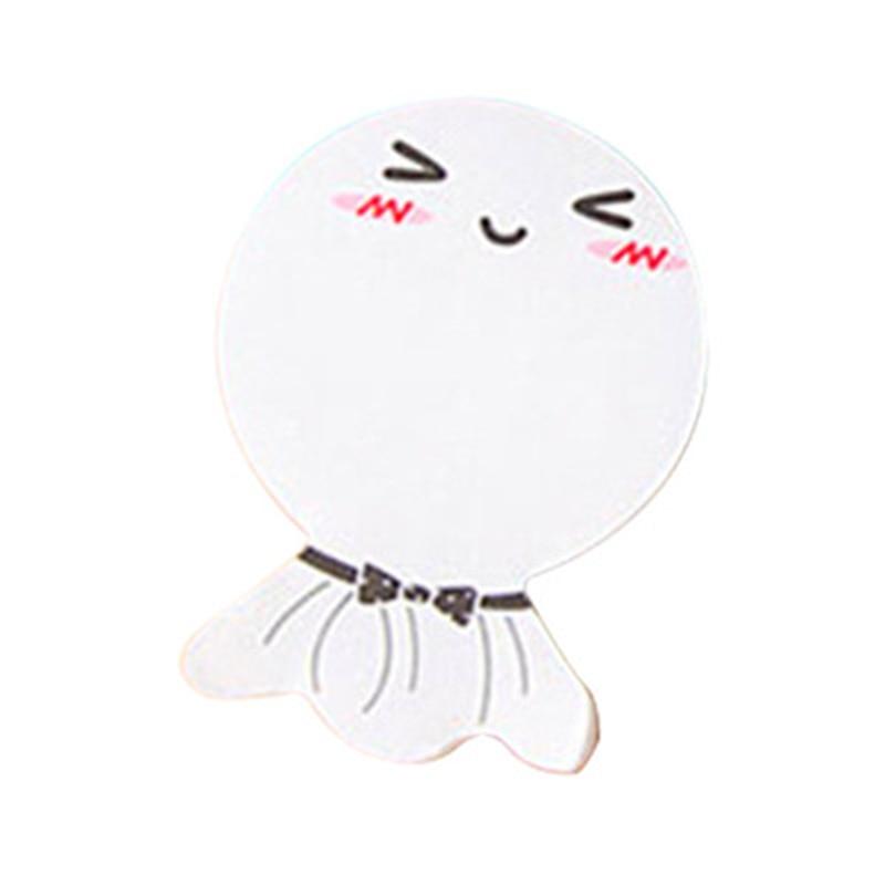 diy Sunny Doll zâmbet memo pad Sticky etichetă scoică notă - Blocnotesuri și registre - Fotografie 5