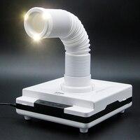 LKE 60 W пылесборник для ногтей регулируемый телескопический подходит для маникюрного салона пылесос 4500 об/мин инструмент для маникюра
