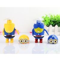 Small Yellow Man USB Charging Mini Portable Air Conditioner Humidification Cooler Cooling Fan Spray Fan Desk
