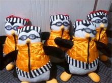 18″ TV Serious Friends Joey's Friend HUGSY Plush PENGUIN Rachel Stuffed Doll NEW