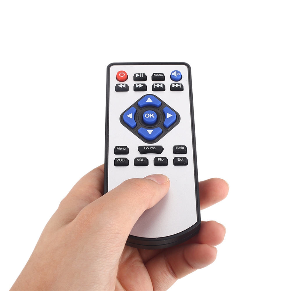 Cewaal Projector Remote Control AV Cable Waterproof Projector Distance Control Battery Operated Presentation Accessories