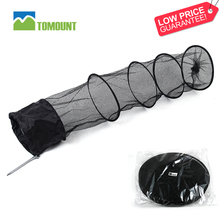 Tiers collapsible basket fresh floating fish mesh net nylon metal +