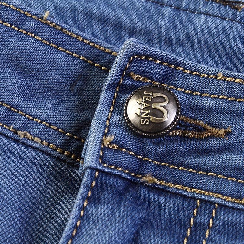 Blue color casual denim pants big size 5