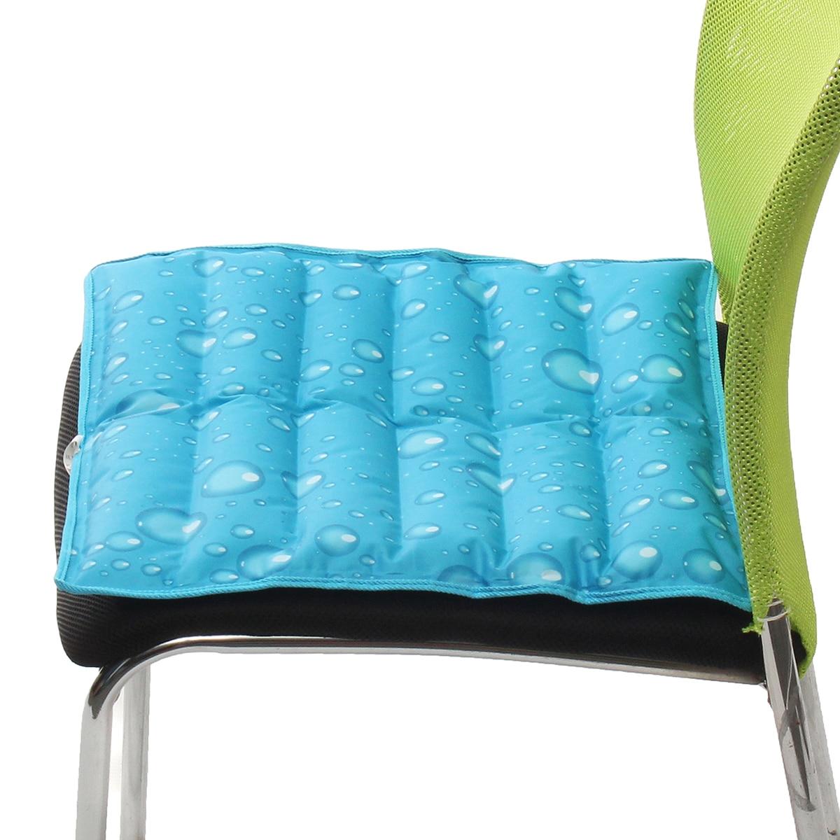 40 см 40 см лето Ice Pad стул подушки галстук для автокресла водяного охлаждения подушки сиденья автокресло крышка протектор