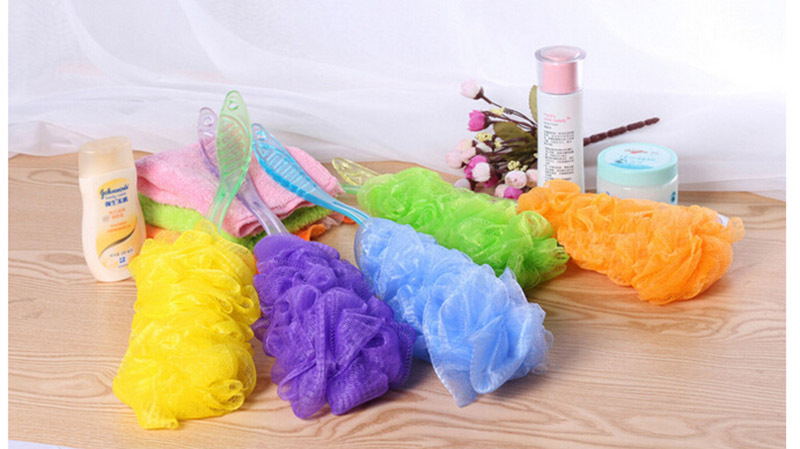Bath Brush Scrub Skin Massage Health Care Sanitary Ware Suite Shower Reach Feet Rubbing Brush Exfoliation Brushes Body