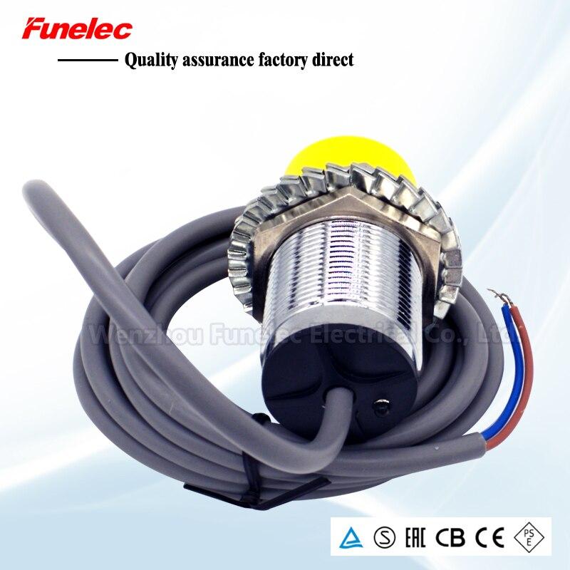 LJA30-10P1 Proximity Switch LJ30A3-8-Z/BX Inductive Sensor DC Three Wire M30 Round Type NPN PNP NO NC