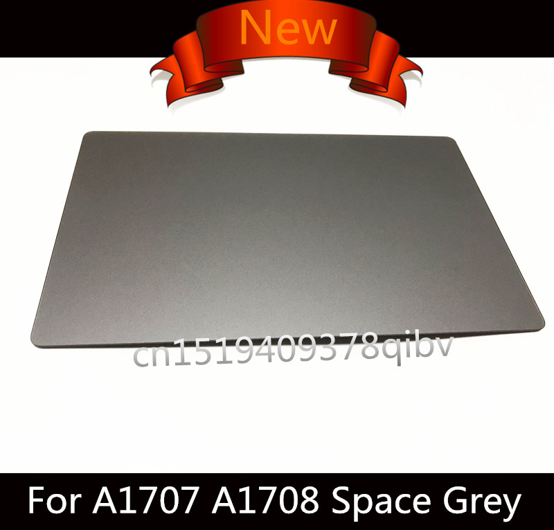 Genuine New Space Grey Touch Panel for Macbook Pro Retina 13'' A1706 A1708 15 A1707 2016 Replacement Touchpad Trackpad Grey original new space grey silve laptop a1706 lcd assembly 2016 2017 for macbook pro retina 13 a1706 lcd screen assembly mlh12ll a