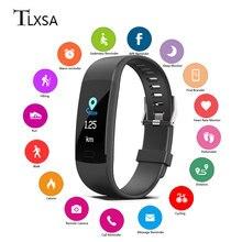 цена на Smart Wristband Activity Fitness Tracker Bracelet Heart Rate Monitoring Bluetooth Step Counter Sports Bracelet IP67 Waterproof