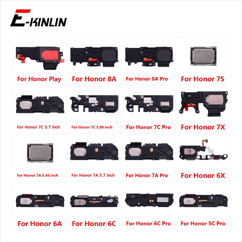 New Rear Buzzer Ringer Module Loudspeaker Loud Speaker Flex Cable For HuaWei Honor Play 8A 7A 7C 7X 7S 6C 6A 6X 5C Pro