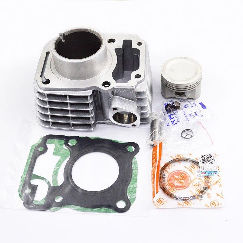 Generous Motorcycle Cylinder Piston Gasket Kit Big Bore 63.5mm For Honda Cbf125 Cb125f Xr125l Glr125 Cg 125 Cargo Glh125 Gr125 Cgr125 Elegant Appearance Engines & Engine Parts