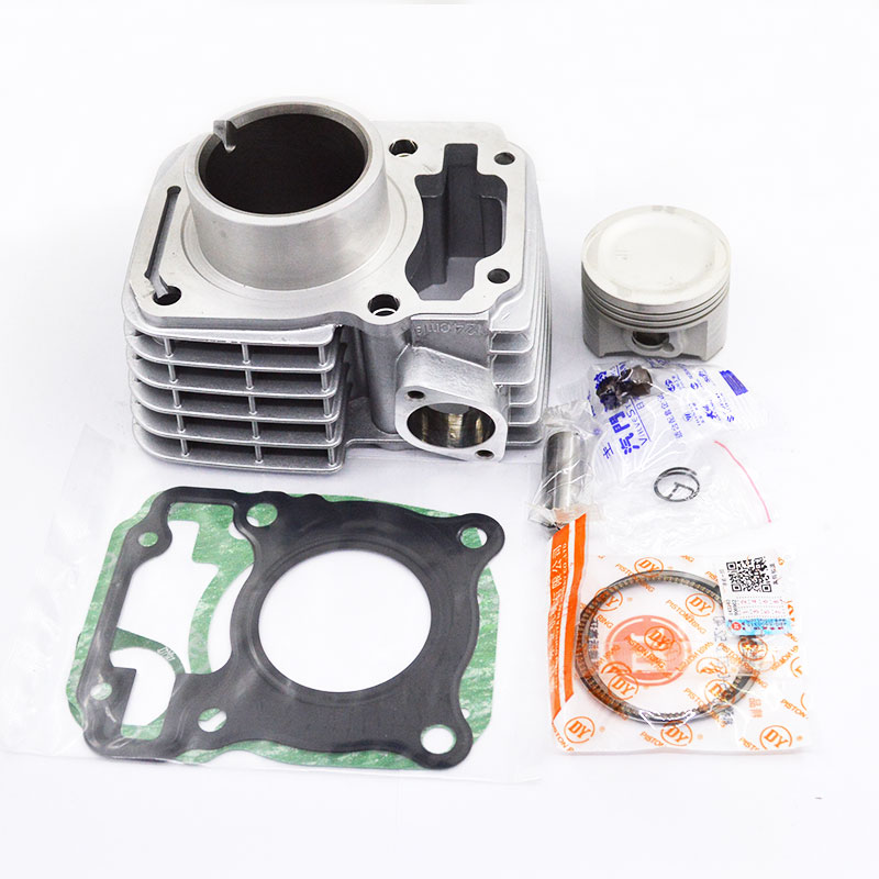Motorcycle Cylinder Piston Ring Gasket Kit STD 62mm for Honda CBF125 CB125F XR125L GLR125 CG 125 CARGO GLH125 GR125 CGR125 ремень sym jp150 gr125 xs125t 17