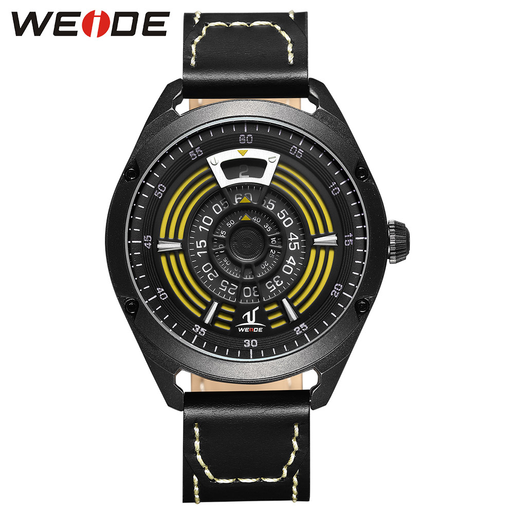WEIDE Quartz Sports Wrist Watch Genuine Brand Luxury Men Alarm Clock Waterproof Leather relogios  Analog Automatic Army Watches weide casual genuine luxury brand quartz sport relogio digital masculino watch stainless steel analog men automatic alarm clock