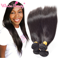 Unprocessed 7A Peruvian Virgin Hair Straight Human Hair Weave 4pieces Wonder Beauty Peruvian Straight Hair Extensions