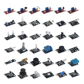 37 w 1 zestawy czujników 37 czujnik ostateczny dla Arduino Raspberry Pi początkujący moduł czujnika uczenia się ostateczny użytkownik edukacji MCU tanie i dobre opinie Usongshine CN (pochodzenie) other Mieszanina CZUJNIK DŹWIĘKU Analog Sensor Sensor kit 37