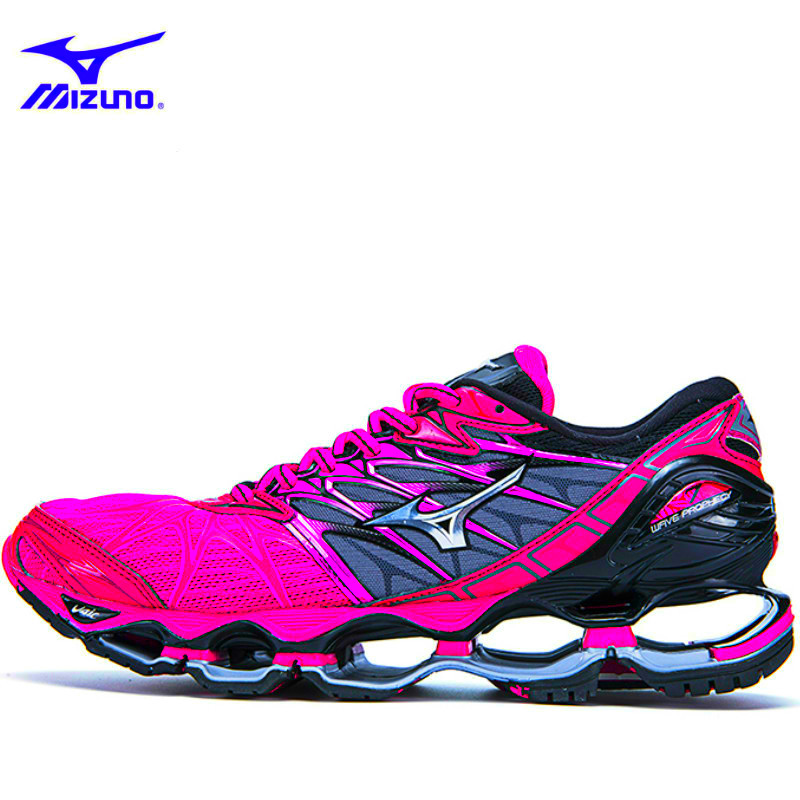 Original Mizuno Wave Prophecy 7 Professional Men Shoes 5 Colors Weightlifting Shoes Sneakers Breath Jogging for Homem Sapatos