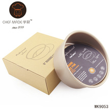 High Quality / Heavy Duty carbon steel 8 Inch by 3 Inch Round Cheesecake Pan Chiffon Baking Mould Removable Bottom