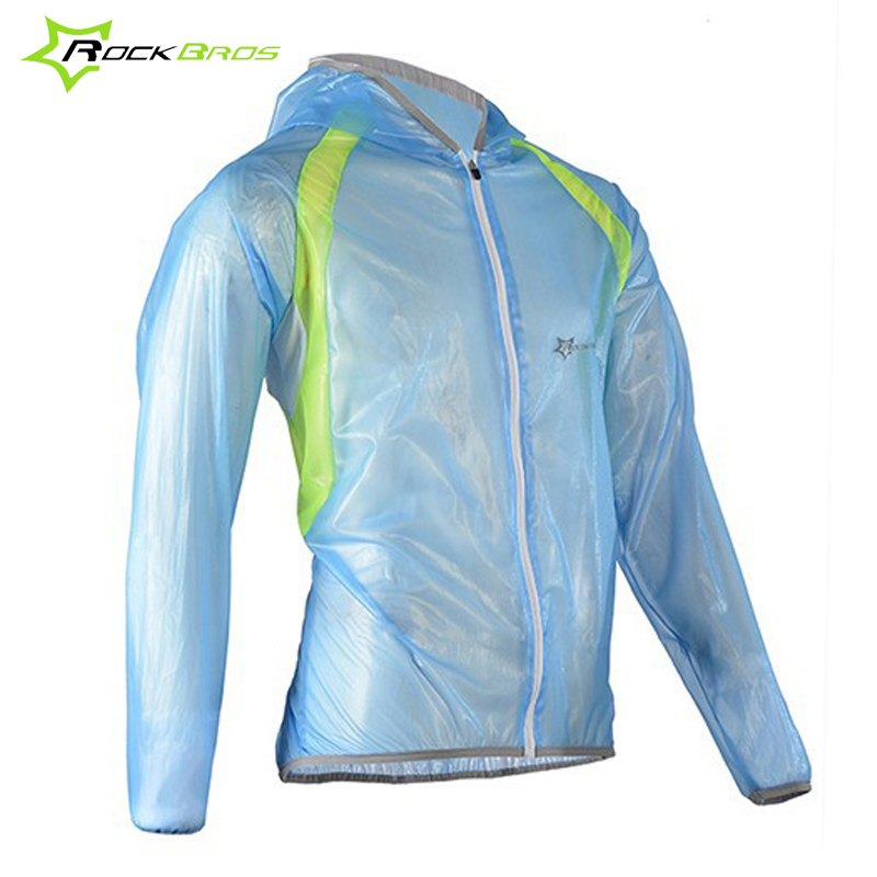 Rockbros Cycling Jacket Men TPU Waterproof Windproof Sports Bicycle Rain Jacket Raincoat Rainproof Jersey Bike Jacket S-4XL стоимость