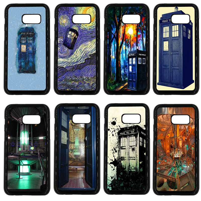 Phone Case Cover Tardis Box Doctor Who For Samsung Galaxy A3 A5 A6 A8 Plus 2015 2016 2017 2018 Cases Cellphones & Telecommunications Half-wrapped Case
