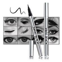 Новая Мода Черный Жидкий длительное Водонепроницаемый Eye Liner Карандаш Для Макияжа Косметические Средства