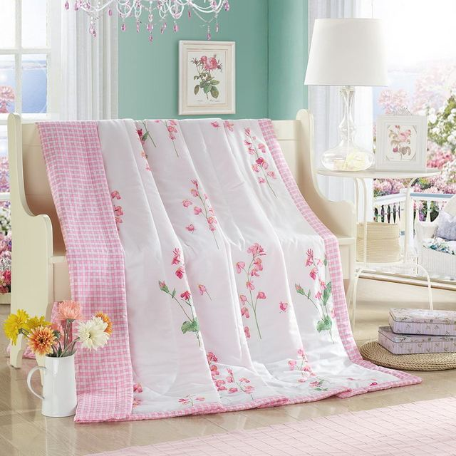breath of spring summer quilt 150*200cm 200*230cm quilted thin ... : light summer quilt - Adamdwight.com