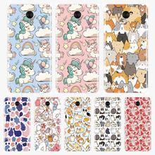 Silicone Case For Huawei Y5 Y6 Y7 Prime 2018 Y9 2019 Soft Cute Unicorn Back Cover For Huawei Y3 Y5 Y6 Y7 2017 II Pro Phone Case все цены