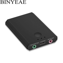 Binyeae Bluetooth A2DP Stereo Audio Transmitter Receiver 2 in 1 wireless Music adapter for TV tablet PC laptop Home stereo
