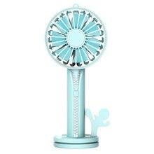 Multifunctional Usb Desktop Zipper Fan Handy Small Desk Desktop Cooling Fan Portable Cooler Mini Fan цена и фото