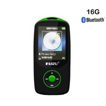 Sport Bluetooth MP3 Player 16GB Hifi Lossless Sound with FM Radio (Easy to operate) Support up to 64GB Micro SD Card-Green