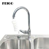 FEIGO 1 шт. домашний растягивающийся 50 см фильтр для воды телескопическая удлинительная трубка для кухонного крана удлинитель водосберегающи...